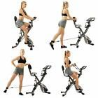 Exercise Bike Home Gym Fitness Equipment Upright Cardio Resistance Bands LCD #Fitness