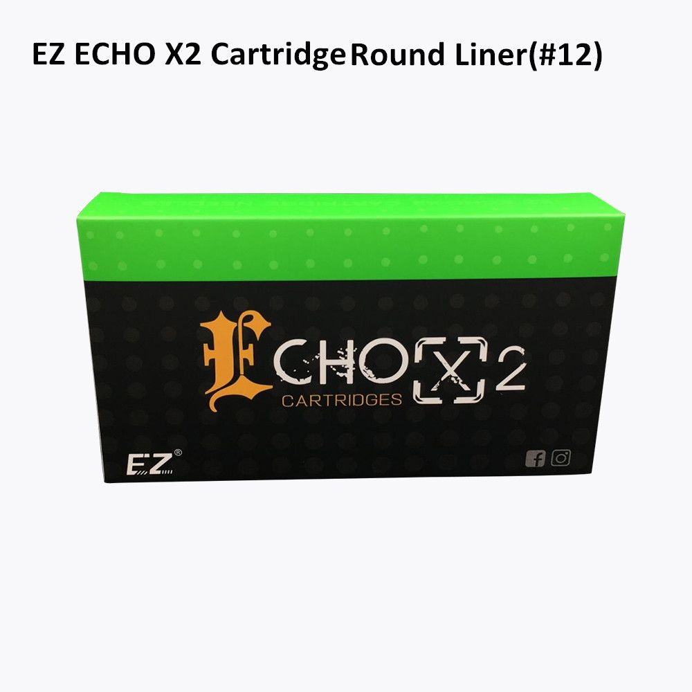 Ez echox2 cartridge needle regular long taper round liner