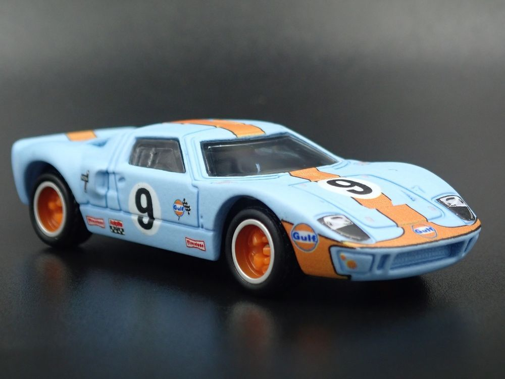 1965 Ford Gt40 Gulf Livery 9 Rare 1 64 Scale Collectible Diecast