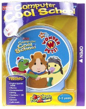 Fisher Price Fun 2 Learn Computer Cool School Software Wonder Pets By Fisher Price 40 00 5 Different Learnin Interactive Classroom Learning Math Wonder Pets