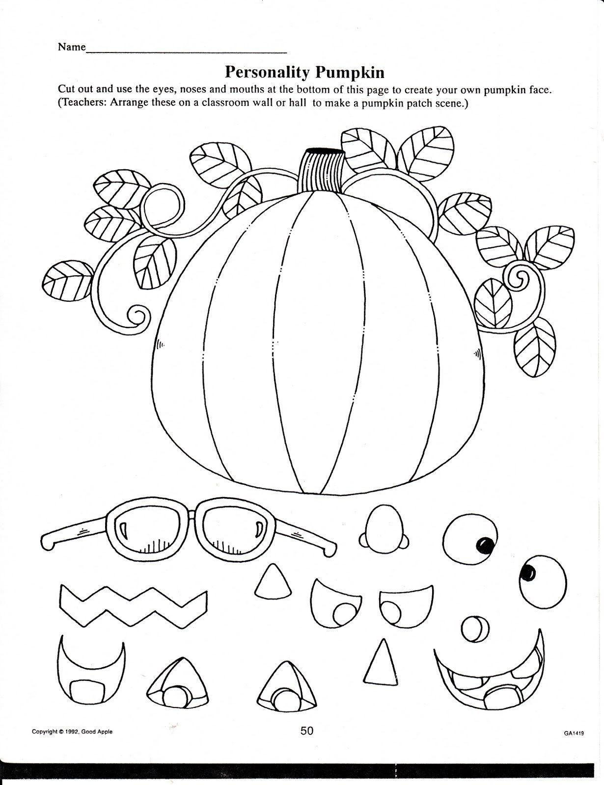 20 Halloween Worksheets For Kindergarten