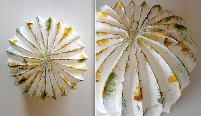 Lampadario Di Cartapesta : Lampada papier mache passion diy