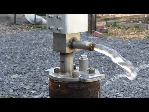 How To Make Powerful Water Pump 12volt With 775 Motor Youtube Water Projects Water Pumps Pumps