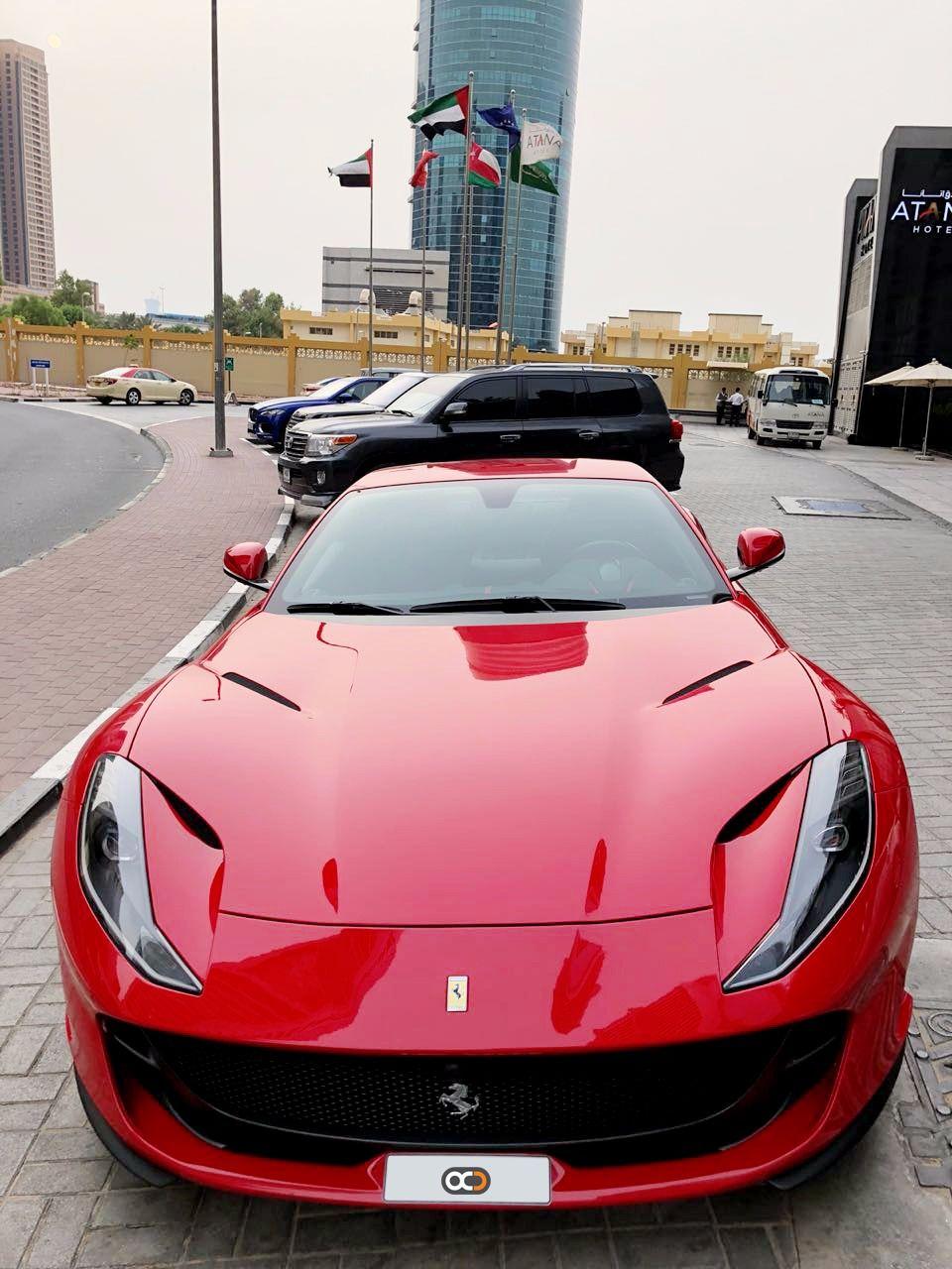 Drive The Iconic 2018 Ferrari 812 Superfast In Dubai For Only Aed 5500 Day Rental Cost Includes Comprehensive Insurance Dubai Cars Ferrari Sedan Cars