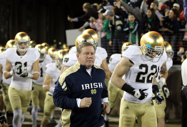 Notre Dame Navy To Kick Off Cbs College Football Coverage From