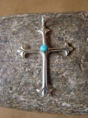 Navajo Jewelry Sterling Silver Cross Pendant by Lorraine Chee