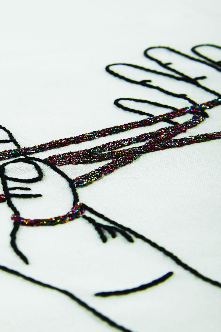 Srta. lylo juego de dedos con cordel - diseño | bordado | Pinterest ...