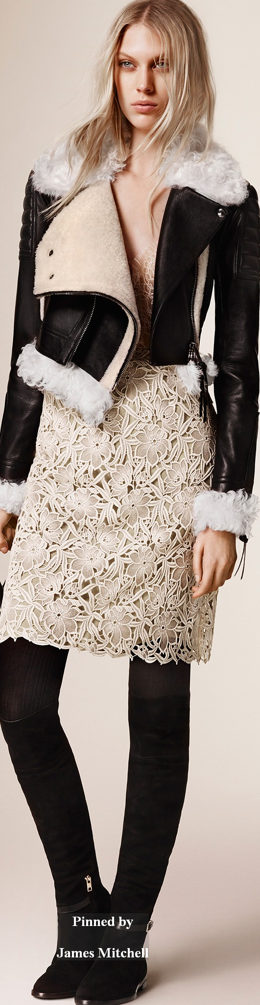 Burberry Prorsum Collection Pre-Fall 2015  Love this jacket!