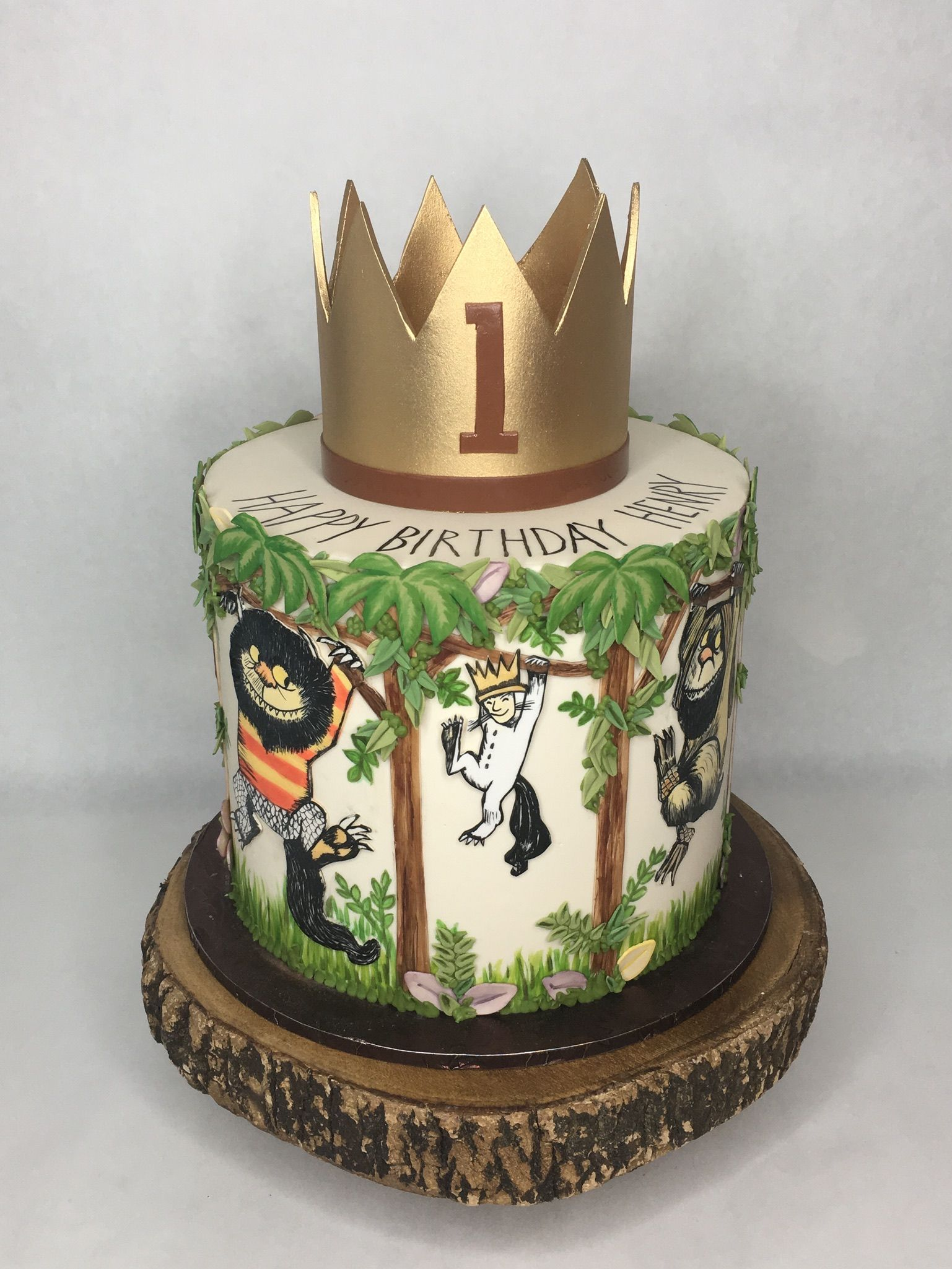 Where The Wild Things Are Custom Cakes Seattle Cakes Let The