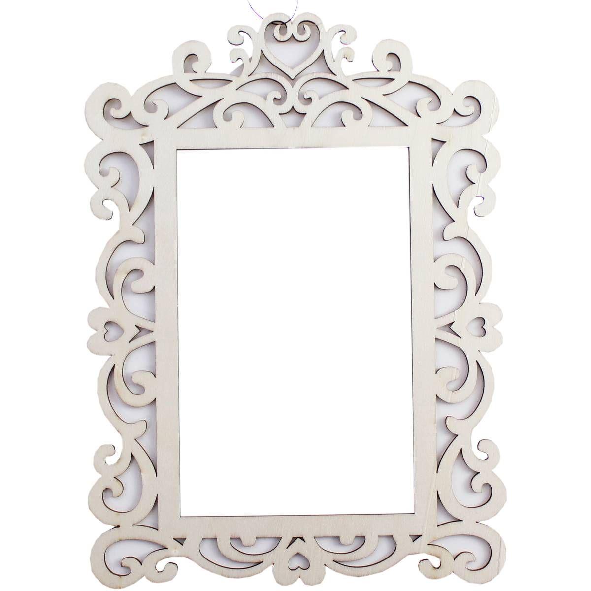 Wooden Frame 22cm X 16cm Wooden Door Signs Wooden Frames Wooden Hearts