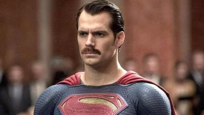 Henry Cavill's moustache