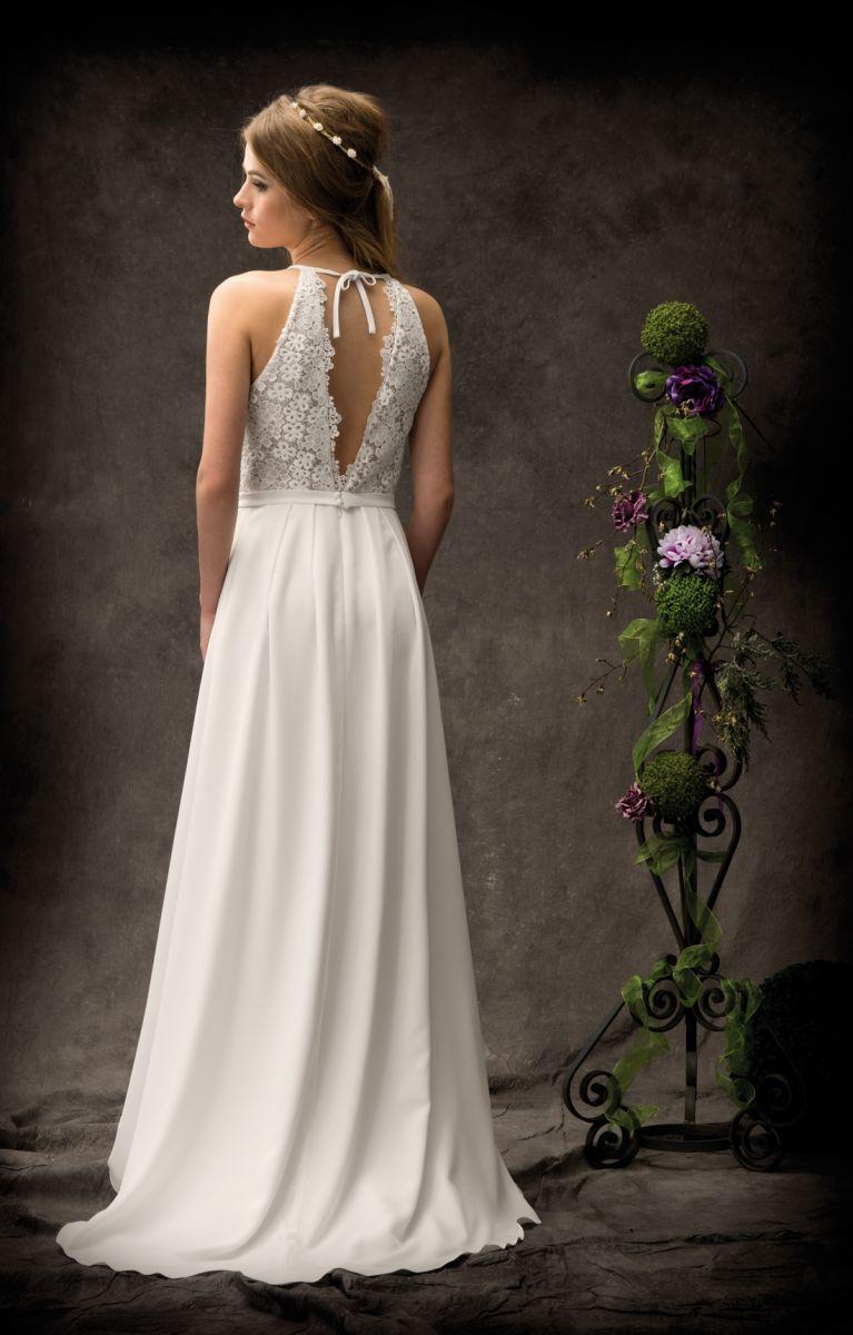 La Promesse Brautmode Schlicht Raffiniert Einzigartig