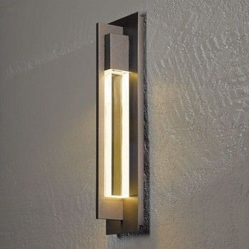 Hubbardton Forge Axis Medium Outdoor Wall Sconce modern outdoor