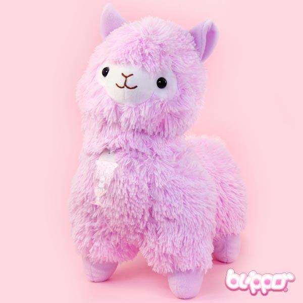 Alpacasso Plush Medium Purple Cute Alpaca Alpacasso Kawaii