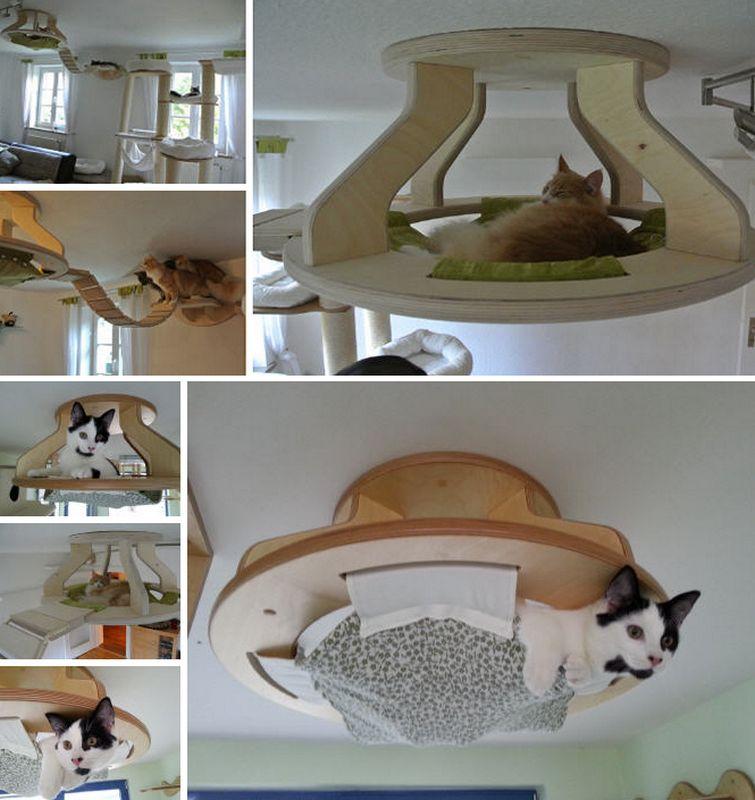 how to make a cat bed   modern magazin   art design diy projects how to make a cat bed   modern magazin   art design diy projects      rh   pinterest