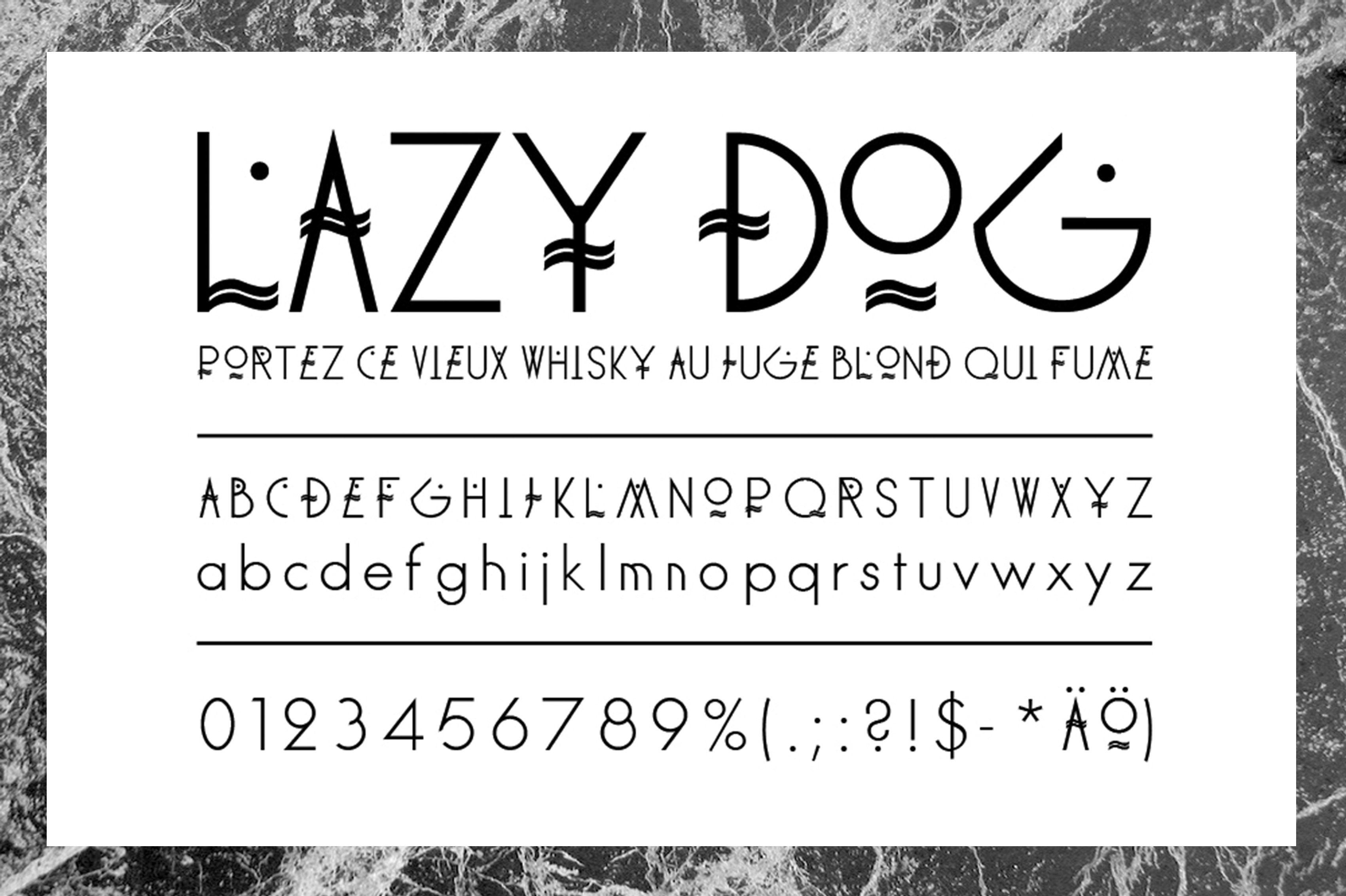 Single story lowercase a font