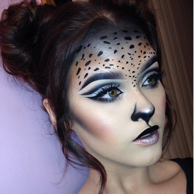 @Vannah2399 † … | Cat, Cheetah, Deer and Fox Makeup and ...