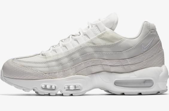 Release Date: Nike Air Max 95 Premium White Snakeskin