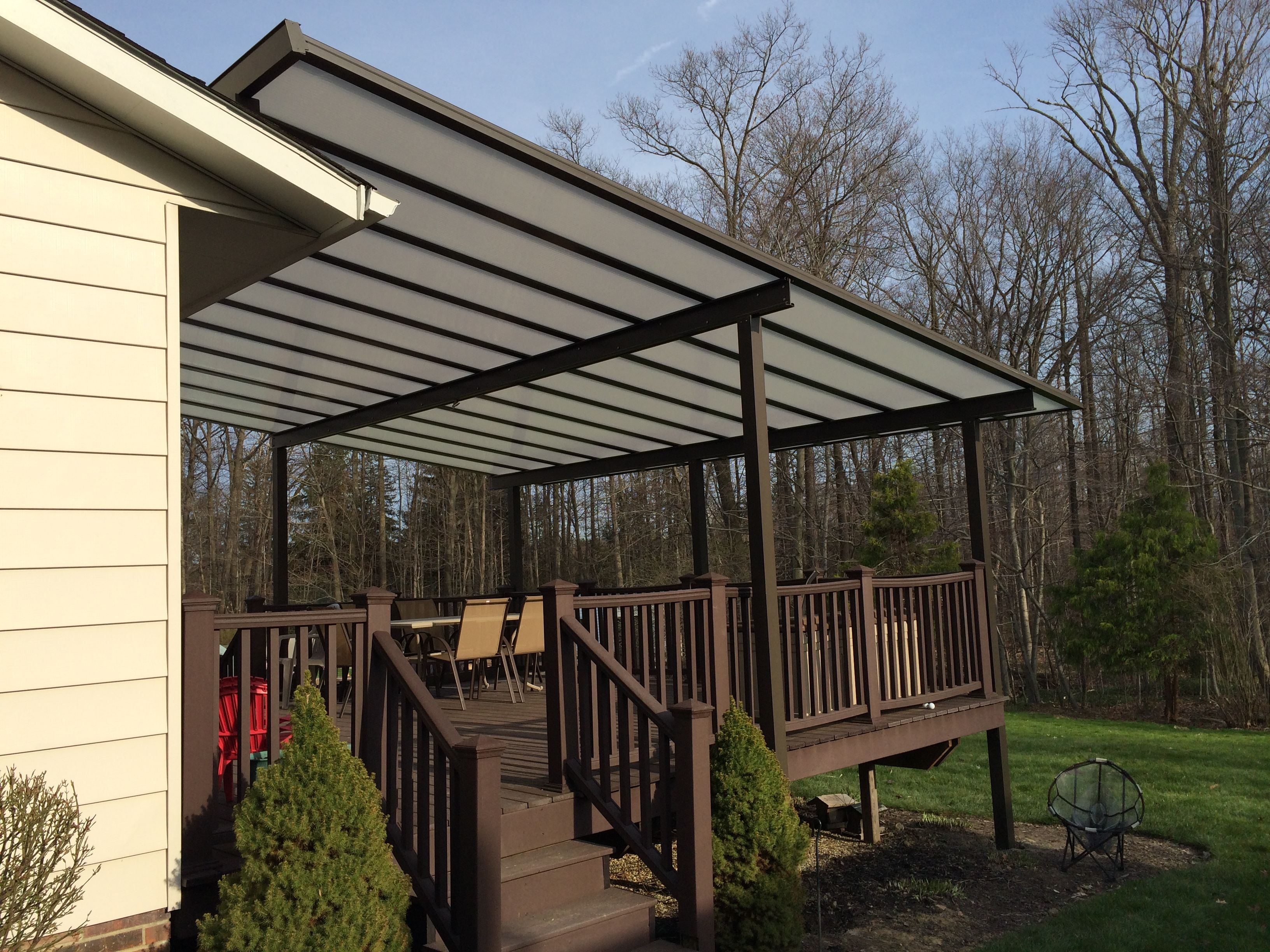 Bright Covers Are Permanent Patio