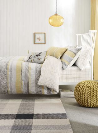 Buy Cotton Rich Textured Stripe Bed Set from the Next UK online shop