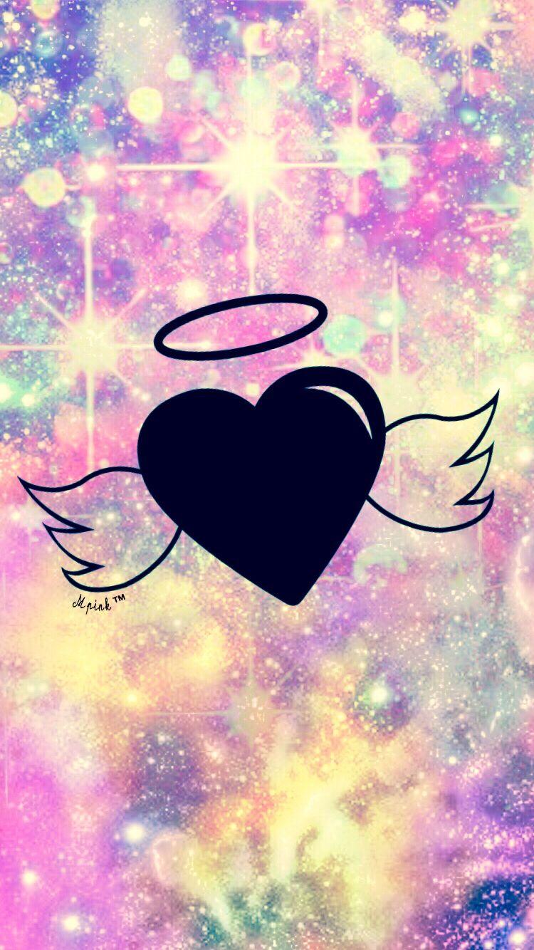 Bokeh Angel Wings Wallpaper/Lockscreen Girly, Cute ...