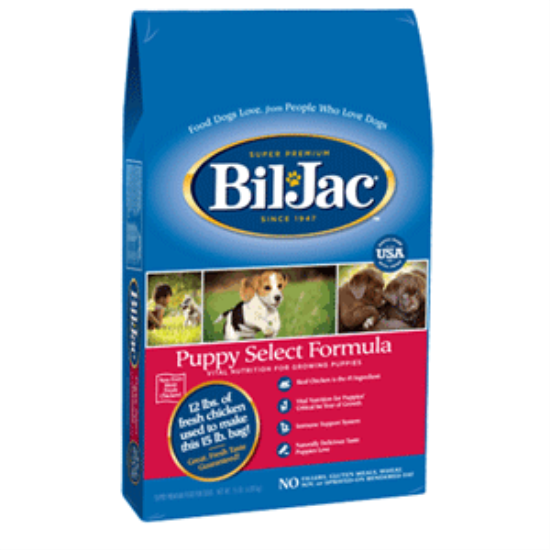 Bil Jac Select Puppy Food Dog food recipes, Large breed
