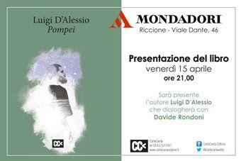 Luigi  D'Alessio, Pompei • cover• CartaCanta editore • http://www.cartacantaeditore.it