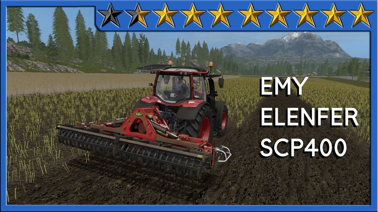 Review EMY ELENFER SCP 400 #FS17
