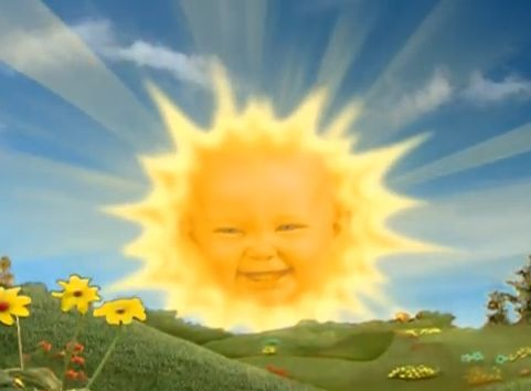 Teletubbies Sun Baby Revealed Teletubbies Kids Tv Shows Sun