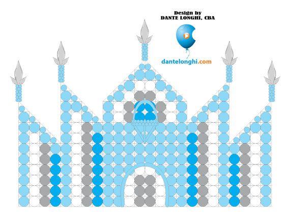 Ice Castle Panel / Painel Castelo de Gelo