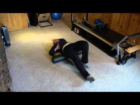 foam roller to stretch psoas  youtube  foam roller hip