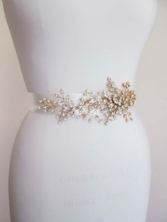 faja cinturón de exquisito cristal swarovski novia faja | cinturon