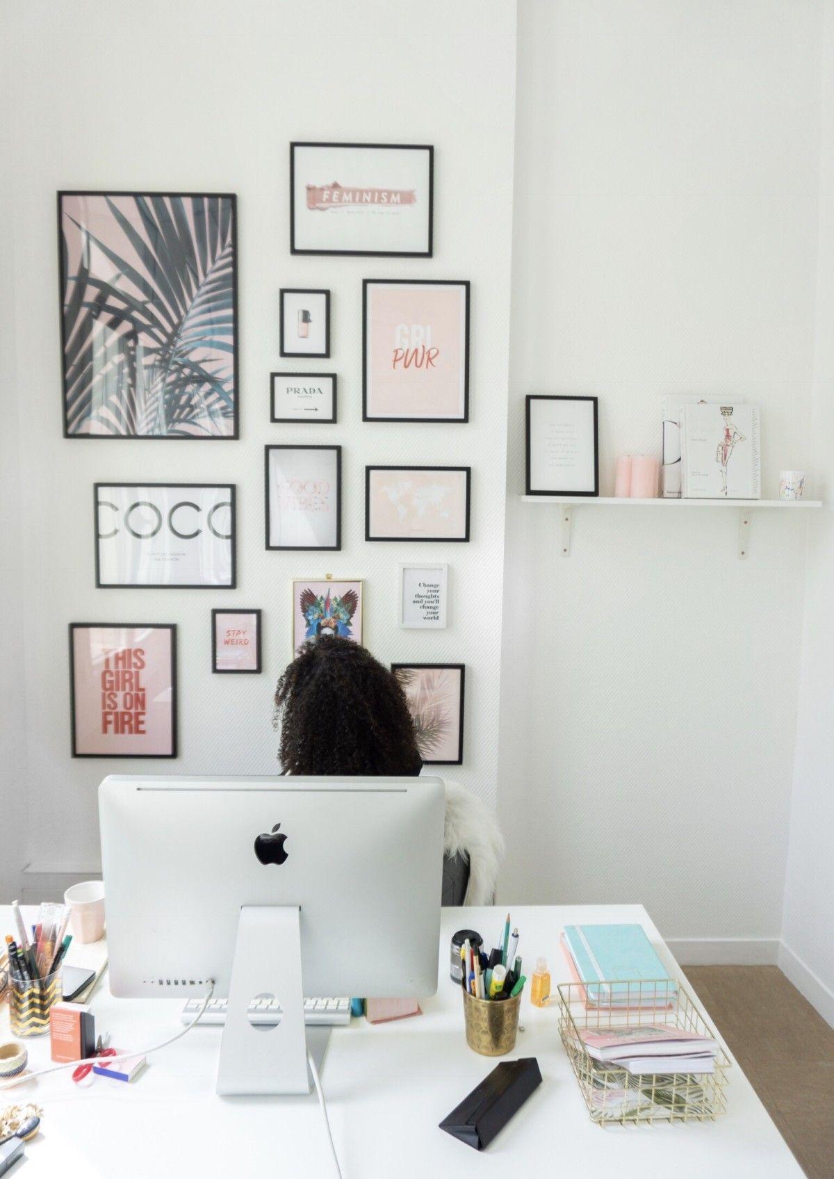 Mon mur de cadres - My Trendy Lifestyle  Deco mur chambre