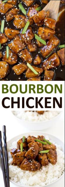 Bourbon Chicken #Chicken #Food #chickenbreastrecipeseasy