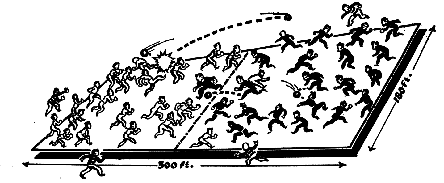 The games which occupied US Soldiers' mind and body, helped to manage stress, and provided tactical training during the World War II