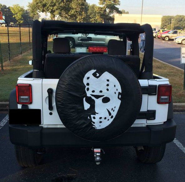 Halloween Tire Cover Things To Make Monster Trucks Jeep Life