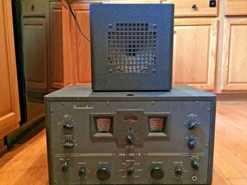 Vintage-Hammarlund-HQ-129X-Tube-Ham-Shortwave-Radio-Receiver