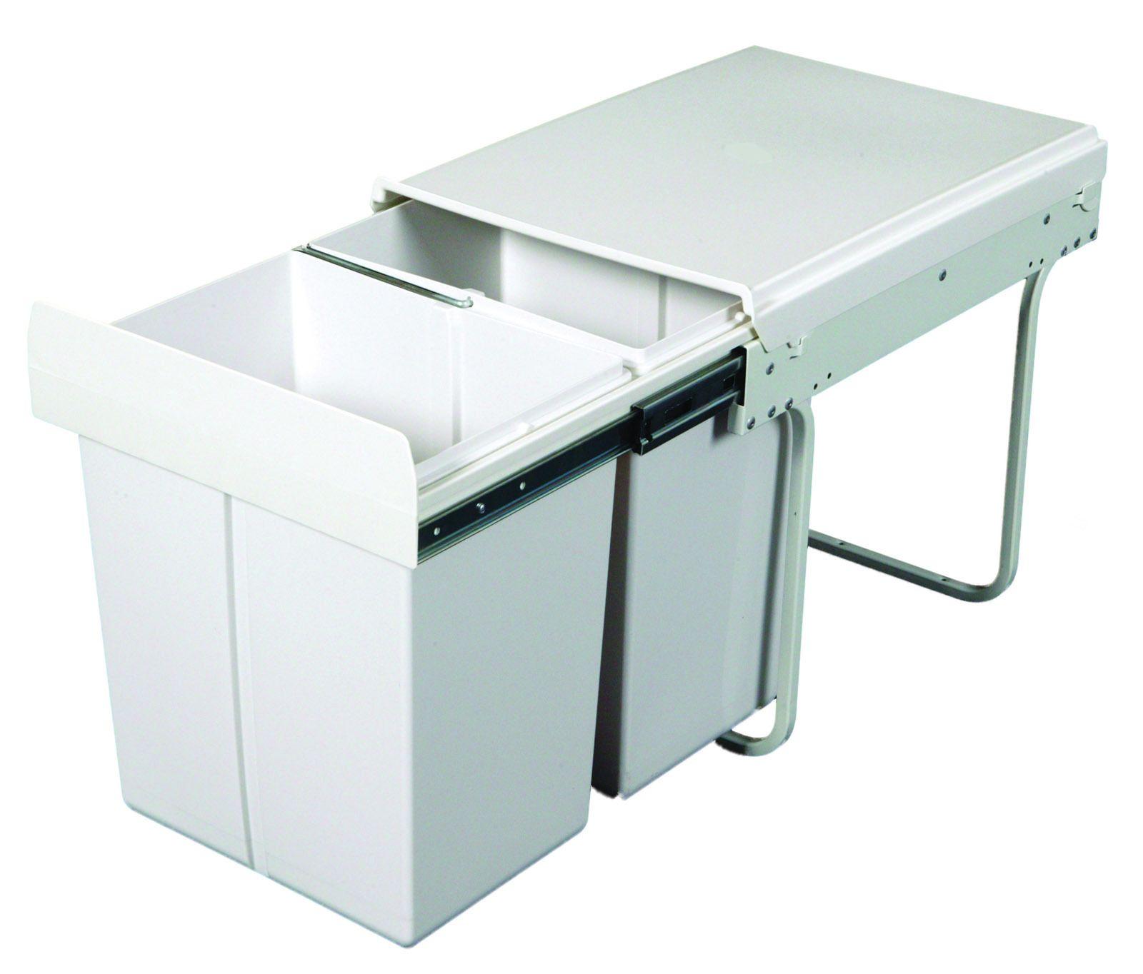 KRB31 - 40L Twin Slide Out Kitchen Waste Bin | Dustbin storage ...