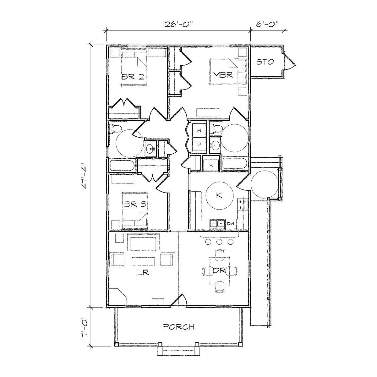 Bungalow Floor Plans Google Search Bungalow Floor Plans Floor Plans Bungalow Design