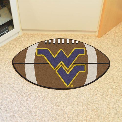 West Virginia Mountaineers Football Floor Rug Mat