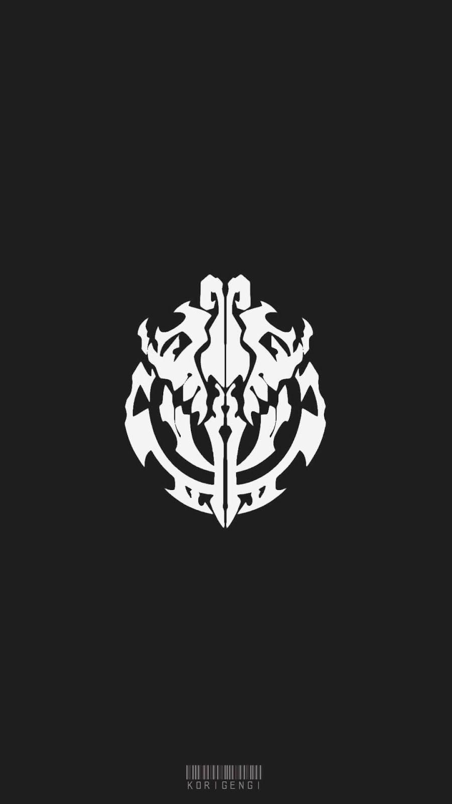Nazarick Logo Overlord Wallpaper Seni Anime Seni Gambar