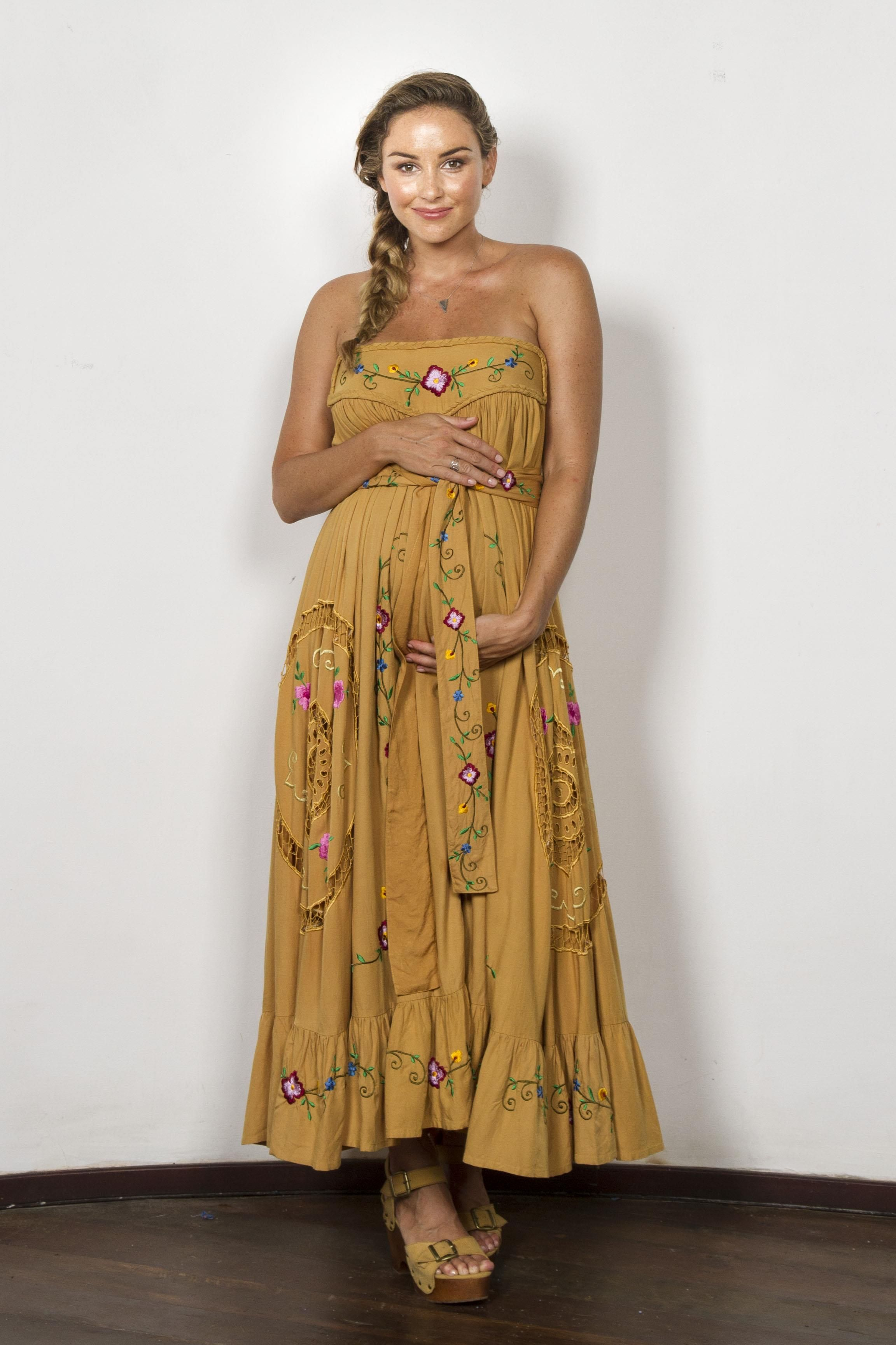 Love note maxi skirt strapless dress gold with delicate cut love note maxi skirt strapless dress gold with delicate cut work ombrellifo Gallery