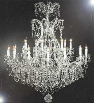 Swarovski Crystal Trimmed Chandelier Maria Theresa Chandelier