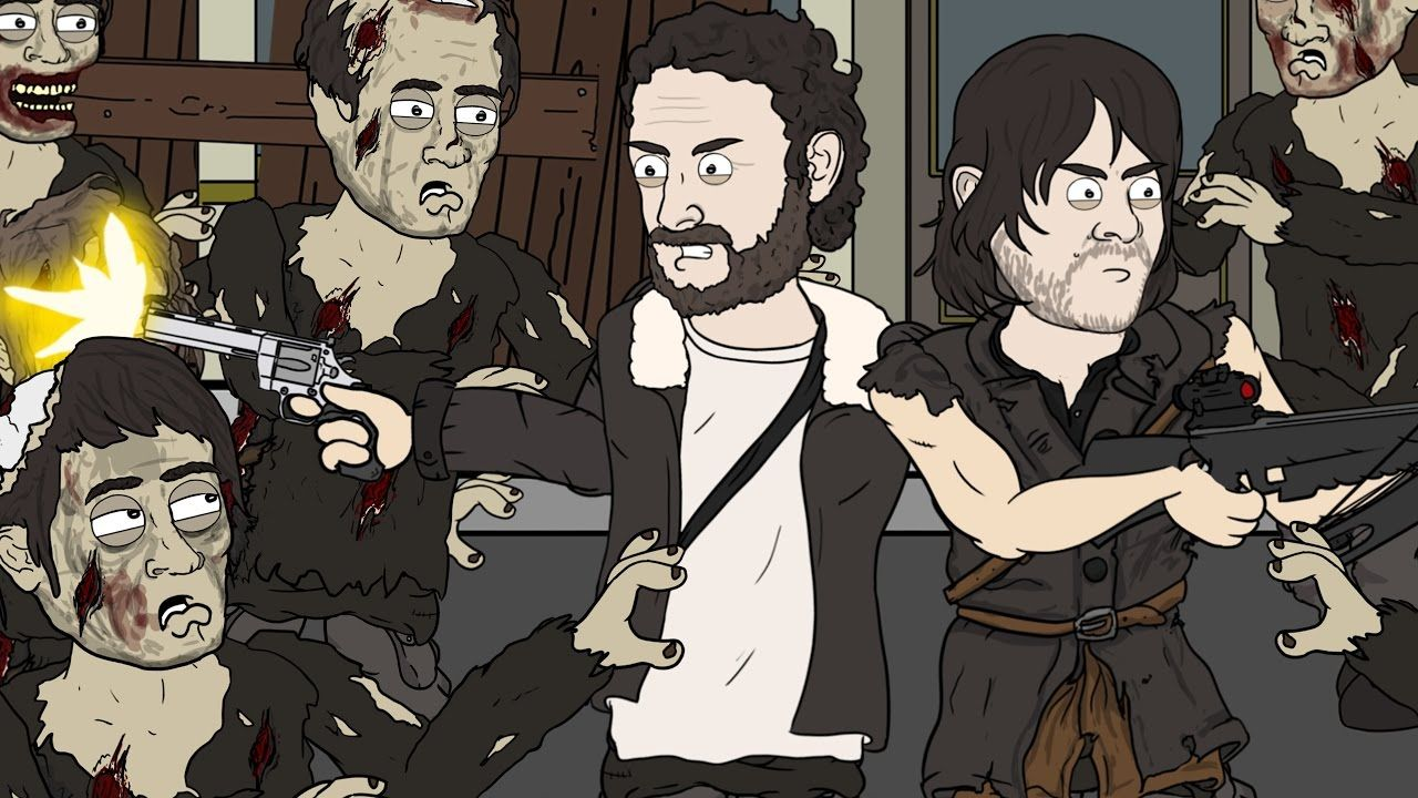 "The Walking Dead Parody | ""Zombie Problems"""