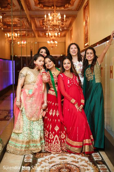 Indian bride with bridesmaids fun moment httpmaharaniweddings indian bride with bridesmaids fun moment httpmaharaniweddings junglespirit Image collections