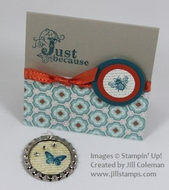 Soda Pop Top Necklace and Card by jillastamps - Cards and Paper Crafts at Splitcoaststampers