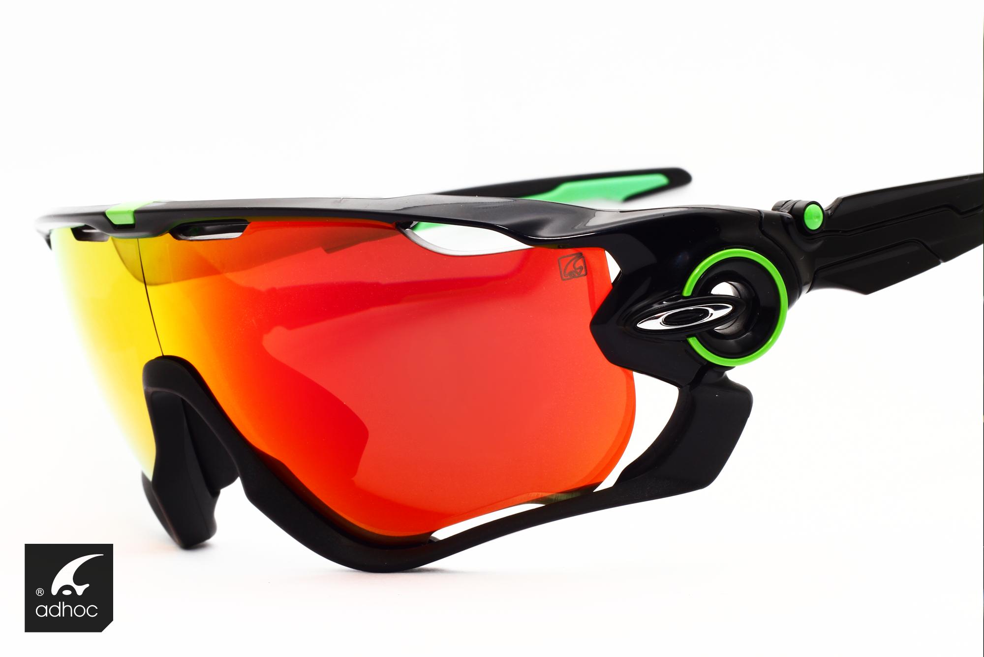 Oakley jawbreaker sport eyewear with adhoc RX DSM optic