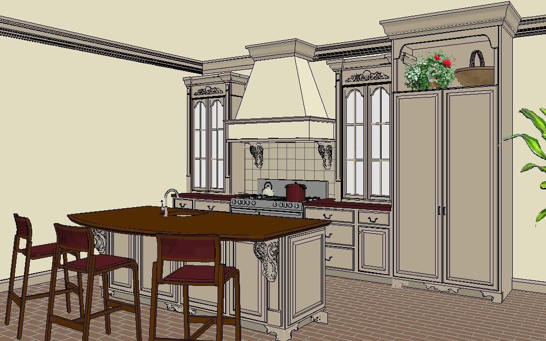 Finding Right Free Kitchen Design Software - fascinating ...
