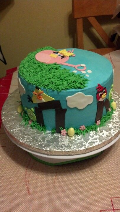 Another angle of cake