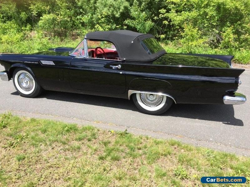 1957 Ford Thunderbird Ford Thunderbird Forsale Canada Cars For